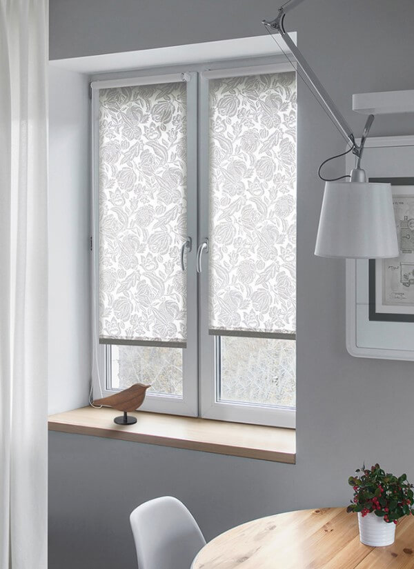 Рулонные шторы на окна фото