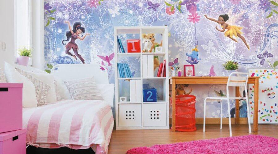 Фото детские обои для комнаты юной принцессы