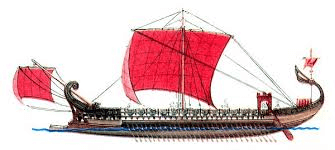 Римские шторы сравнивали с парусом на старинных судах