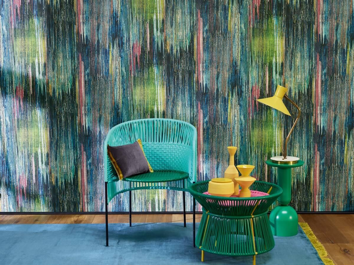 Обои Coral wall от Zimmer+Rohde