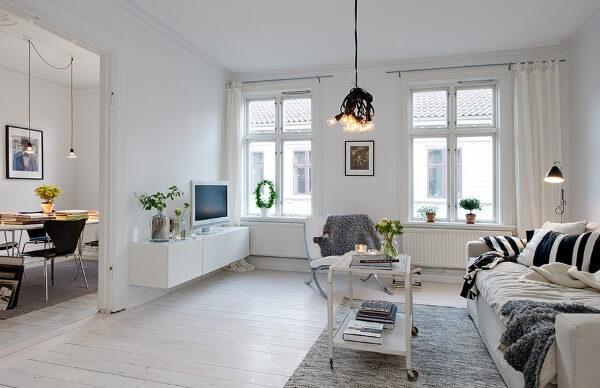 Полы и стены в скандинавском стиле